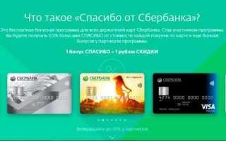 Как перевести бонусы программы «Спасибо от Сбербанка» в деньги
