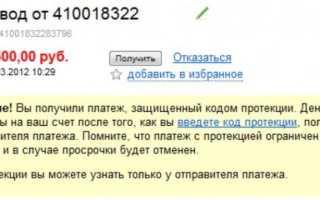 Код протекции Яндекс деньги — что это и как им пользоваться