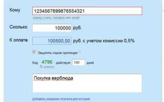Перевод с протекцией по коду в WM Keeper WinPro